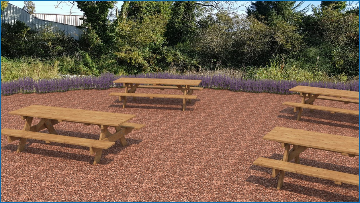 Proposed Garden space