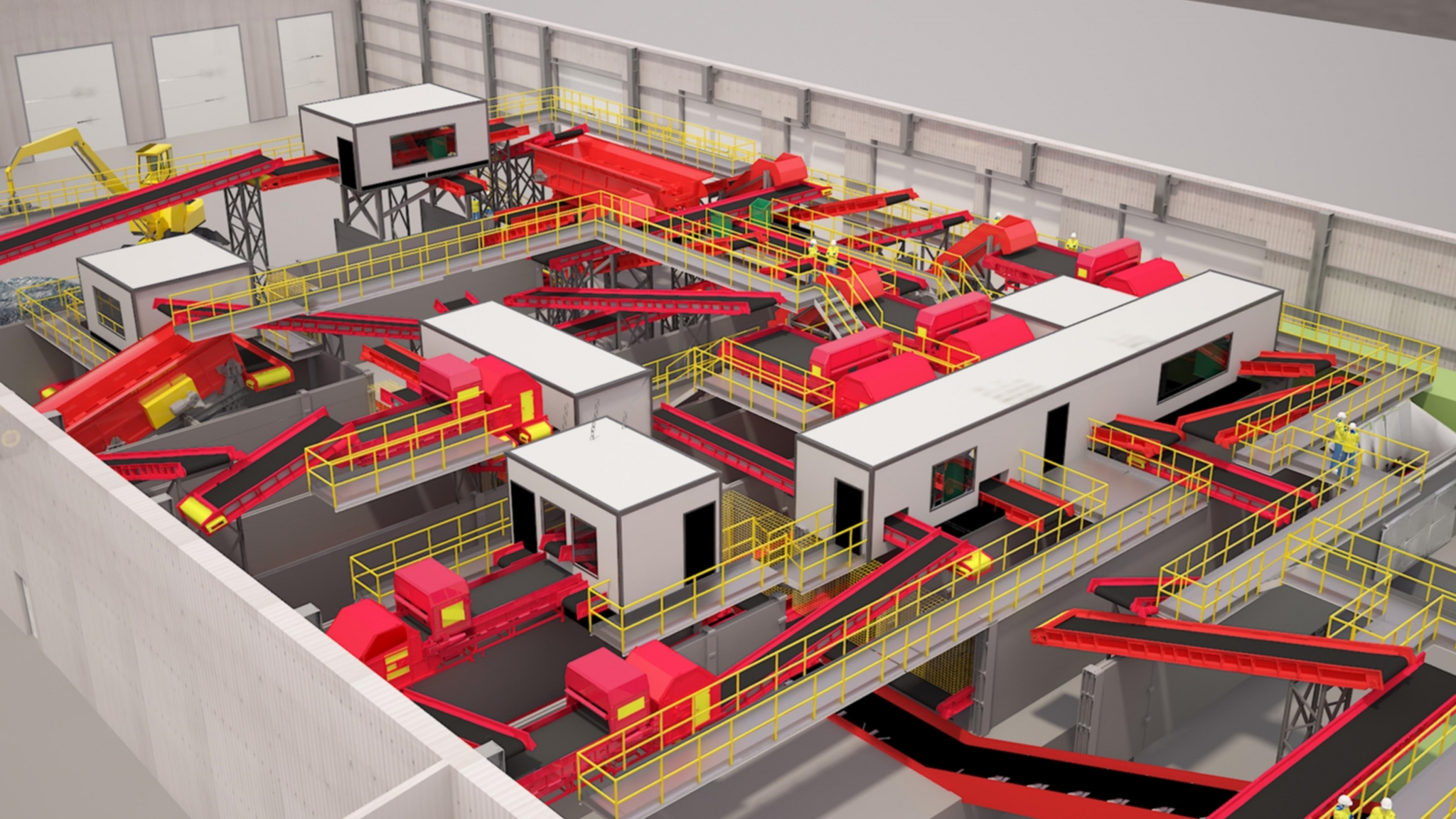 Hills develops new Materials Recover Facility (MRF) for Wiltshire