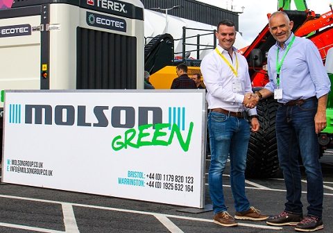 Molson Green and Turmec grow together