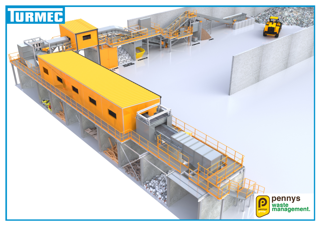 C&D sorting plant completed at RM Penny
