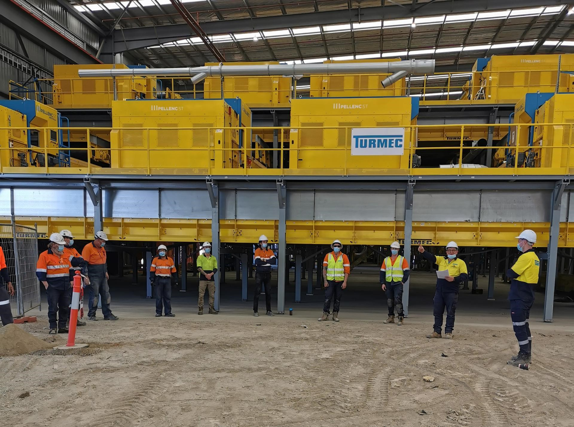 Turmec conducted refresher TBT (Tool Box Talk) under Covid Prevention Plan in Sydney Australia