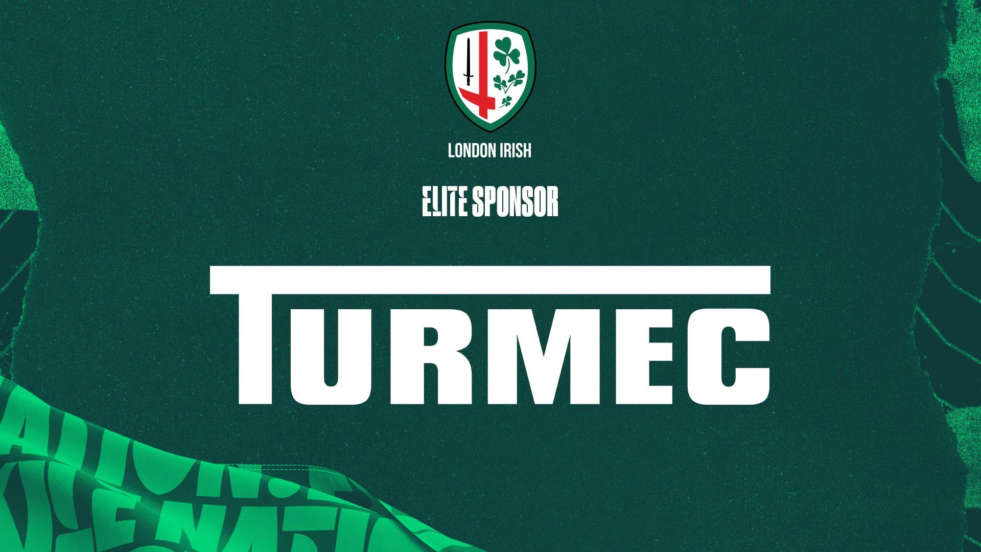 TURMEC SPONSORS LONDON IRISH RUGBY CLUB FOR 2021/2022 SEASON