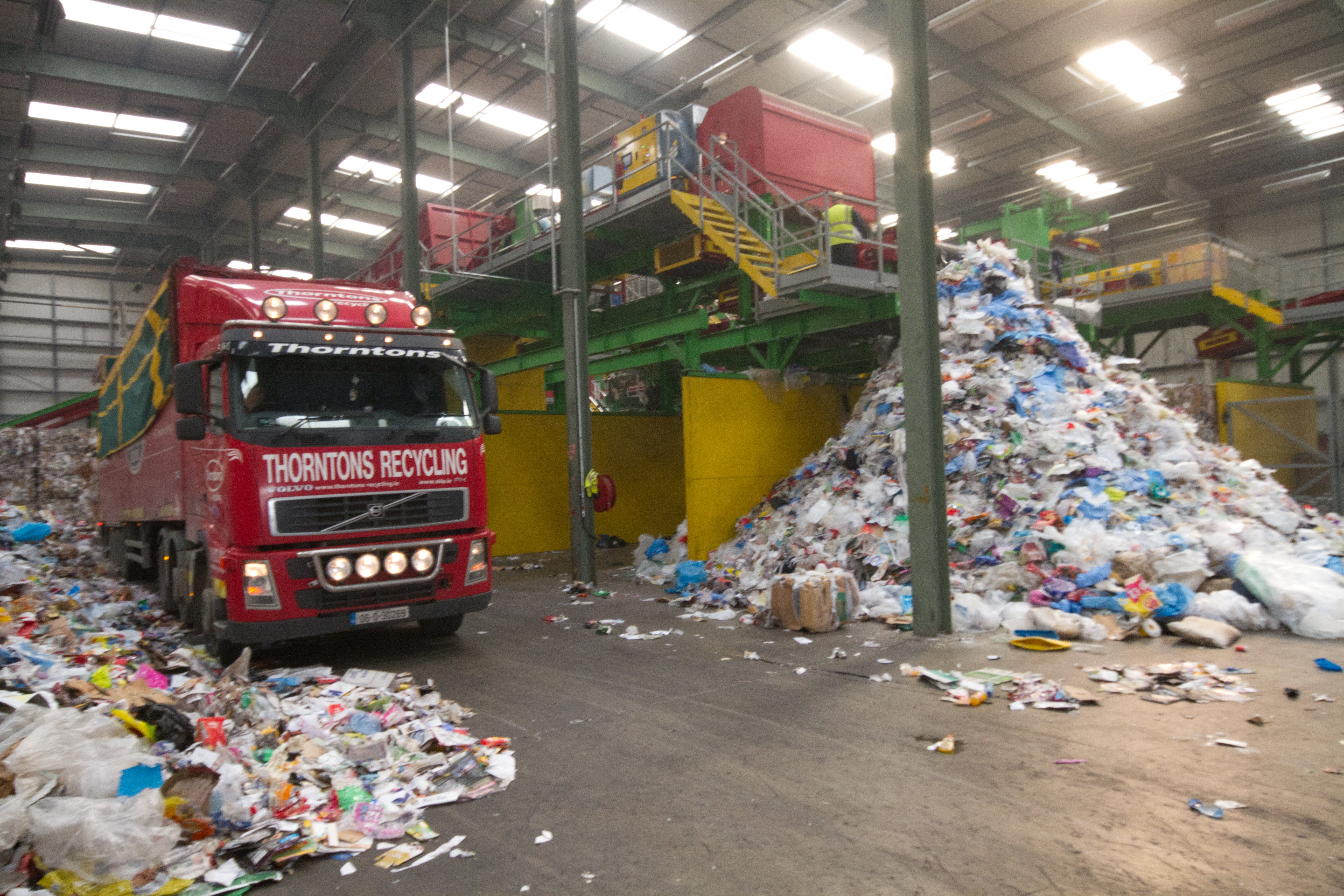 Thornton Recycling's mixed dry recycling facility plant upgrade