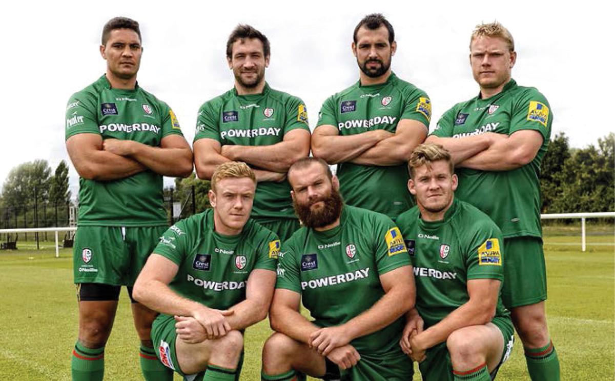 Turmec proudly supports London Irish Rugby